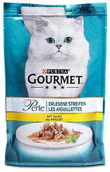 Gourmet Perle Katzenfutter mit Huhn