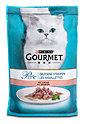 Gourmet Perle Erlesene Streifen Katzenfutter mit Lachs