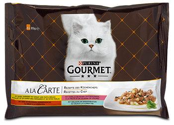 Gourmet A la Carte Katzenfutter mit Fisch & Fleisch