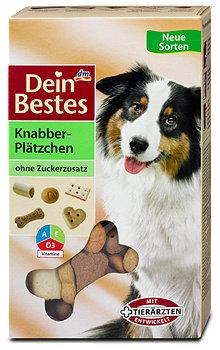 Dein Bestes Knabber-Plätzchen Hundesnack