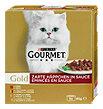 Gourmet Gold Katzenfutter Zarte Häppchen in Sauce