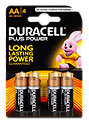 Duracell Plus Power AA LR6/MN1500 Batterien
