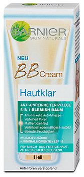 Garnier BB Cream Hautklar Hell