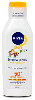 Nivea Sun Kids Pure & Sensitive Sonnenlotion LSF 50+