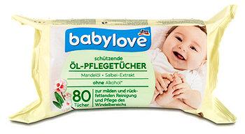 babylove schützende Öl-Pflegetücher