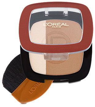 L'Oréal Paris Glam Bronze Puder Duo