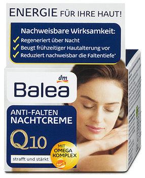 Balea Q10 Anti-Falten Nachtcreme