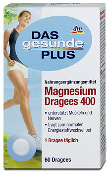 DAS gesunde PLUS Magnesium Dragees 400