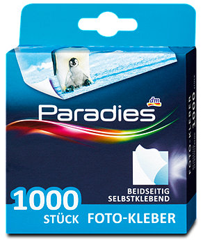 Paradies Foto-Kleber