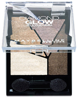Maybelline Diamond Glow by Eyestudio Lidschatten Quattro