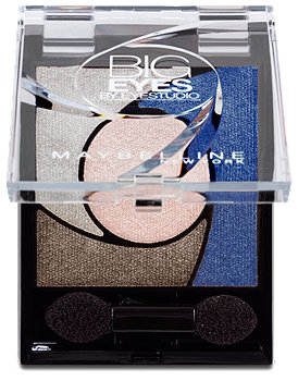 Maybelline Big Eyes by Eyestudio Lidschatten Quattro