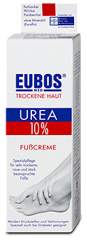 Eubos Trockene Haut Urea 10% Fußcreme