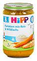 Hipp Menü Karotten mit Reis & Wildlachs