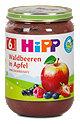 Hipp Fruchtbrei Waldbeeren in Apfel
