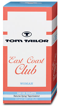 Tom Tailor East Coast Club Woman EdT