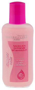 Maybelline express nails Nagellackentferner mit Mandelduft