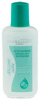 Maybelline express nails acetonfreier Nagellackentferner
