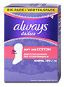 always dailies Slipeinlagen Soft Like Cotton Normal Big Pack