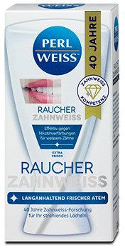 Perlweiss Raucher Zahnweiss Zahncreme