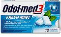Odol-med3 Fresh Mint Zahnpflegekaugummi