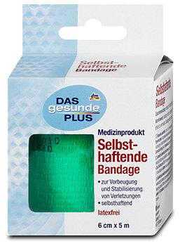 DAS gesund PLUS selbsthaftende Bandage sort.