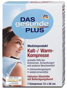DAS gesunde PLUS Kalt-/Warm-Kompresse