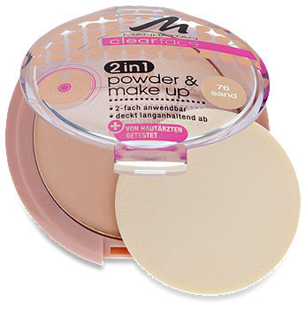 Manhattan clearface 2in1 Puder & Make Up
