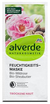 alverde Feuchtigkeits-Maske Bio-Wildrose Bio-Sheabutter