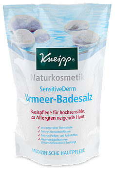 Kneipp Naturkosmetik SensitiveDerm Urmeer-Badesalz
