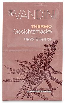 aldo Vandini Thermo Gesichtsmaske Hanföl & Heilerde