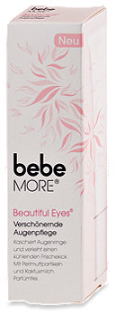 bebe More Beautiful Eyes Verschönernde Augenpflege