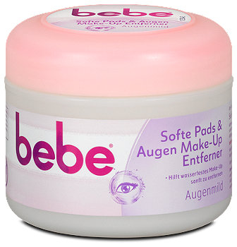 bebe Young Care softe Pads & Augen Make-Up Entferner mild