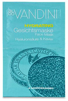 aldo Vandini Hydrating Gesichtsmaske Hyaluronsäure & Kaviar