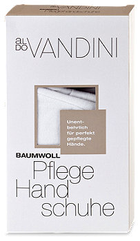 aldo Vandini Baumwoll Pflege Handschuhe