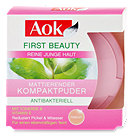 Aok First Beauty mattierender Kompaktpuder