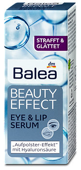 Balea Beauty Effect Augen & Lippen Serum