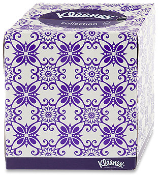 Kleenex Kosmetiktücher Würfelbox collection sort.