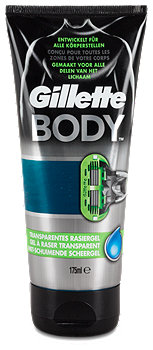 Gillette Body Transparentes Rasiergel
