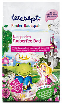 tetesept Kinder Badespaß Badeperlen Zauberfee Bad