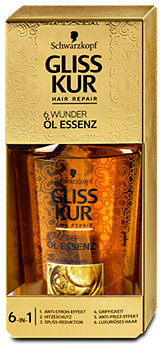 Gliss Kur Hair Repair 6 Wunder Öl Essenz
