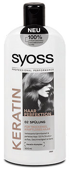 syoss Keratin Hair Perfection Spülung
