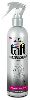3 Wetter taft Heidi's Heat Styles Hitzeschutz-Spray