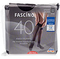 FASCÍNO Kniestrümpfe 40 DEN 2er Pack