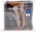 FASCÍNO Kniestrümpfe 20 DEN 2er Pack