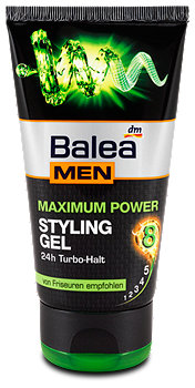 Balea MEN Maximum Power Styling Gel