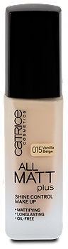 Catrice Cosmetics All Matt plus Shine Control Make-Up