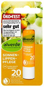 alverde Sonnen-Lippenpflege LSF 20