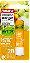 alverde Sonnen-Lippenpflege Bio-Sanddorn Bio-Olive LSF 20