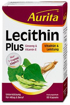 Aurita Lecithin Plus Ginseng & Vitamin E Kapseln
