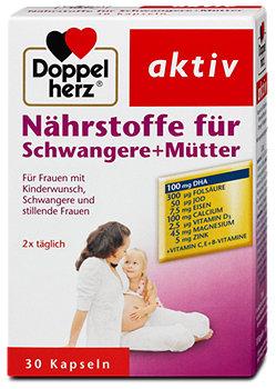 Doppelherz aktiv Vitalstoffe für Schwangere + Mütter Kapseln
